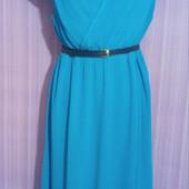 Красивейшее голубое платье в отличном состоянии! Подойдет на праздники!