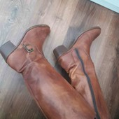 шкіряні натуральні чоботи 40