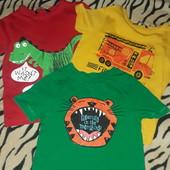 Набор футболок George 2-3 роки, Отлічний стан,