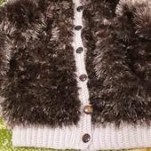 вязаний кардиган для мальчика 2 -3 роки  пряжа травка