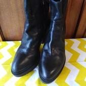 Оч класные стильные кожаные ботильоны Janet Sport !!! Размер 38, стелька 25 см!!!