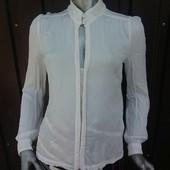 Базовая шикарная блузка размер S