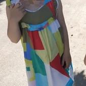 Красивый фирменный сарафан Next 116,6 лет. Состояние отличное
