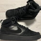 Замшевые утеплённые Nike оригинал 38 размер стелька 24 см