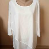 Гарна біла блузка , стан нової, 10% знижка на УП