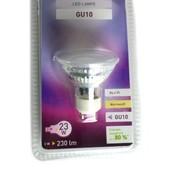Led лампочка энергосберигающая, 230 V Livarno Lux однотонная, белая, Германия