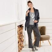 Милая пижама 3-ка с плюшевым кардиганом Esmara Германия размер евро XS (32/34)