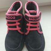 Демисезонные текстильные ботинки на девочку 30-18.8 см