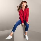 Шикарный, элегантный, джинсовый пиджак-куртка от Tchibo (германия), р. 46евро