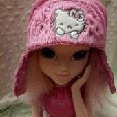 мягусенькая шапочка демисезон/ теплая зима
