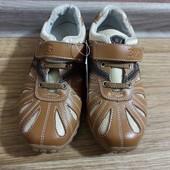 Туфли в спортивном стиле кожаные