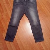 Серые джинсы (поб-55-58 см)