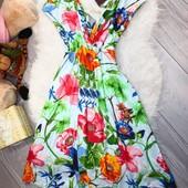 ❤️Tiffany Rose Англия❤️стильное яркое модное платье размер 3 (M\L)