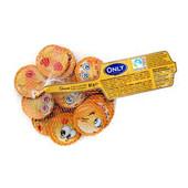 Набор монеток -смайликов Австрия.В упаковке 15 больших штук,молочный шоколад