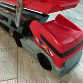 Домашній розпродаж: Трейлер перевізник машинок hot wheels, оригінал. В ідеалі