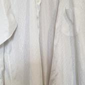 Мужская рубашка, праздничная белая в идеальном состоянии!!!