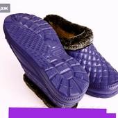 Классные калоши галоши теплые тапки ботинки.