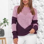 Хит этого сезона, мягкий, удобный и стильный свитер. 46-52, разные цвета