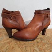 Ботинки 37 p Tamaris Германия натур кожа оригинал-23,5 см