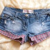 джинсовые шорты р 10