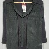 Вискозная блуза. можно в офис. смотрите мерки
