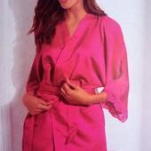 Германия!!! Шелковистый женский халат с укороченным рукавом! 40/42 евро!