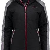 женская зимняя стеганая куртка от kjelvik. Цвет на фото 2. Есть брак!