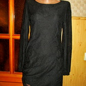 Качество! Ажурное платье от Zara в отличном состоянии