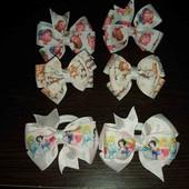 3 пары резиночек в лоте(Нюша, принцессы,  мамин котенок)!!! для маленькой принцессы