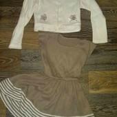 Шикарное платье на девочку 3-4 лет