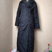 Легкое пальто-плащ синтепон демисезон размер М