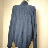 Мужской шерстяной свитер размер М