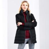 Tchibo сток стеганное пальто с шерстью Наш 44 или 38