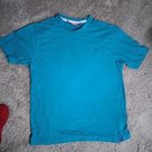 Мужская футболка размер Л-ХЛ стопроцентный хлопок