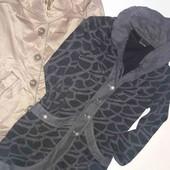 Тренч и легкое пальто-кардиган размер s