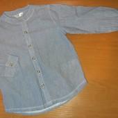 Рубашка для мальчика, на 2-3года,на рост 98
