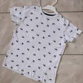 Стоп !❤пальмы! Коттоновая фирменная футболочка,8-10лет❤ Много лотов!