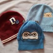 Три шапочки одним лотом для модника