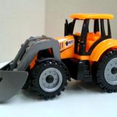 Классный Трактор с прицепом