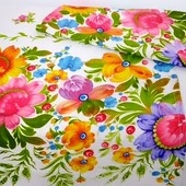 Набор красивых полотенец из хлопка! Отличного качества!