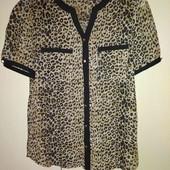 Новая блузочка леопардовый принт