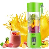 Фитнес блендер - шейкер Smart Juice cup fruits usb для коктейлей и смузи Зеленый