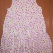 Платье на 10 лет, на рост 138