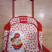 чемоданчик рюкзак для девочек