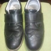 кожаные туфли-оксфорды на мальчика 35-36