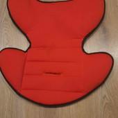 Матрасик-вкладыш на коляску или стульчик для кормления