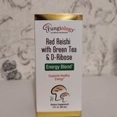 энергетическая смесь трутовик лакированный с зеленым чаем и рибозой, California Gold Nutrition, Fung