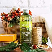 гель для душа Оливка Farmasi Shower Gel Olive oil, 375мл