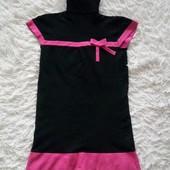 ♥️ Теплое платье под реглан (вискоза, ангора, эластан) на дев. 8-9 лет. Новый браслет в подарок ♥️