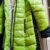 Тёплый пуховик осень-зима 44-46